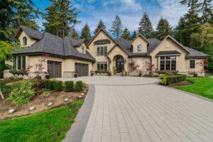 New Construction Fixtures - New home exterior